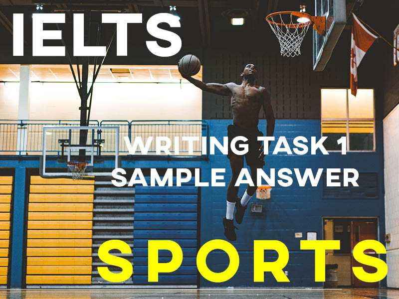 IELTS Writing Task 1 Sample Answer: Sports
