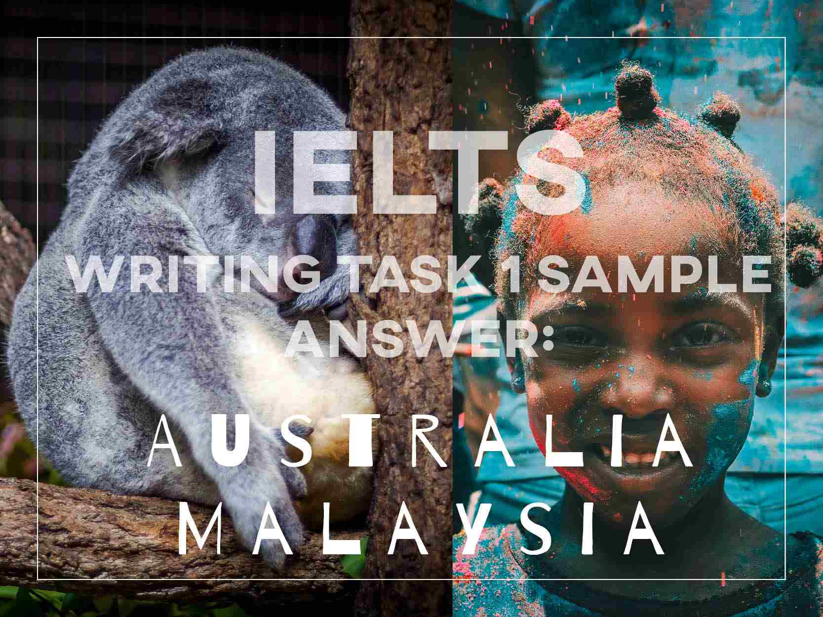 IELTS Writing Task 1 Sample Answer: Table (Populations