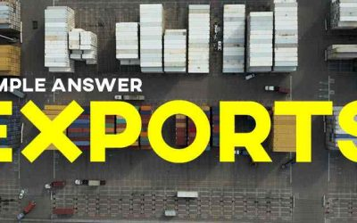IELTS Writing Task 1 Sample Answer: Exports in Various Categories (IELTS Cambridge 14)