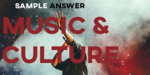 IELTS Writing Task 2 Sample Answer: Music & Culture