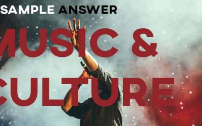 IELTS Writing Task 2 Sample Answer: Music Bringing People Together (IELTS Cambridge 14)