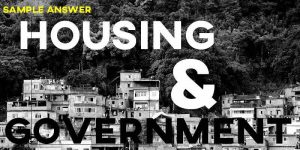 IELTS Writing Task 2 Government and Housing