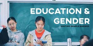 ielts writing sample answer essay education and gender