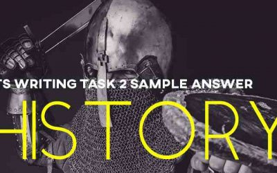IELTS Writing Task 2 Sample Answer: History (Cambridge IELTS 13)