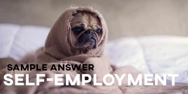 IELTS Writing Task 2 Sample Answer: Self-Employment (IELTS Cambridge 14)