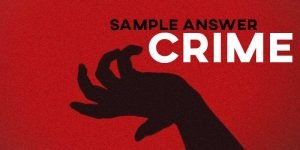 IELTS Sample Answer Crime