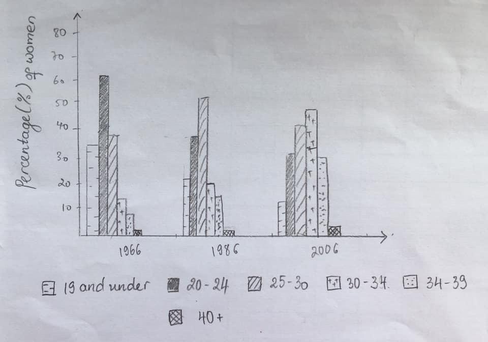 IELTS Writing Task 1 Bar Chart