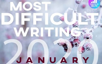 The Most Difficult IELTS Writing Topic: January 2020 (Environment, Government, & Individuals)