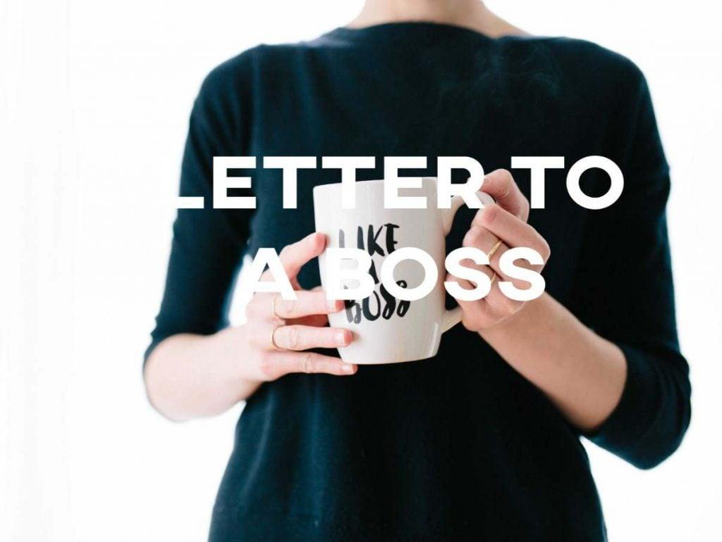 IELTS Essay: Letter to a Boss
