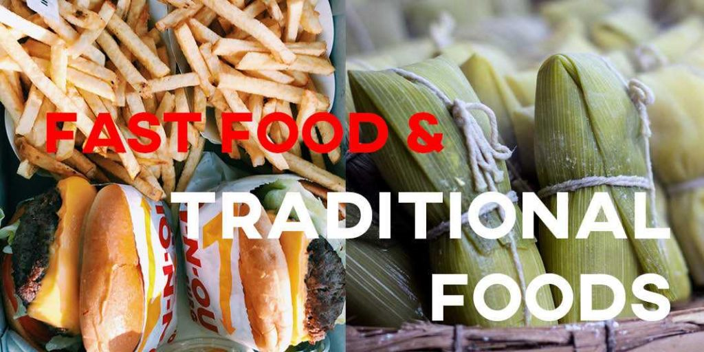 IELTS Essay: Traditional Foods and Fast Food