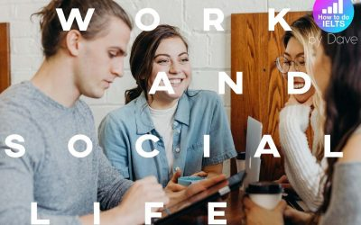 IELTS Essay General Training: Work and Social Life
