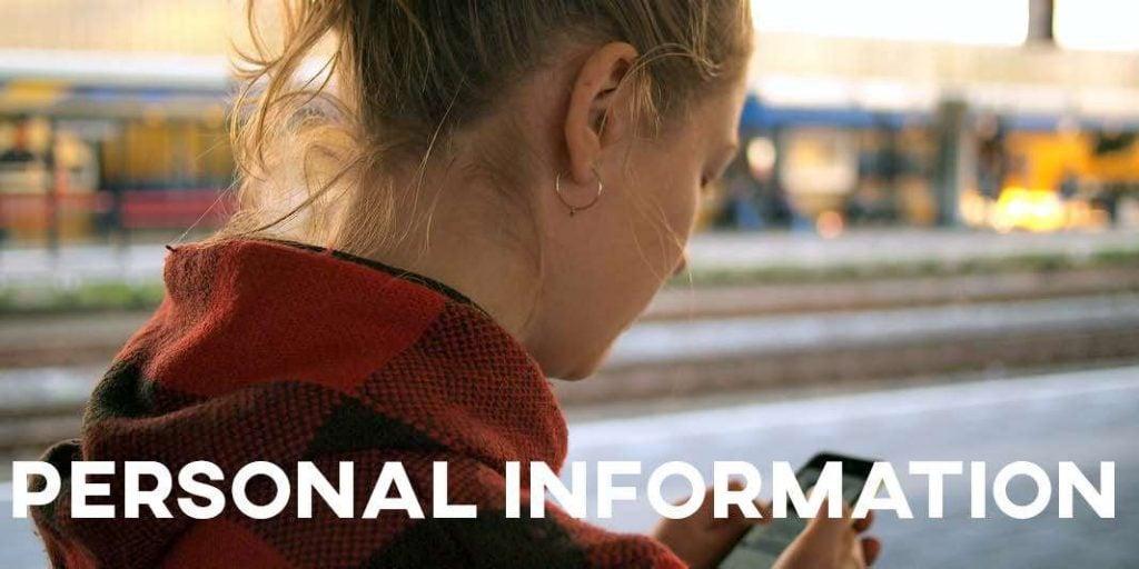 IELTS Essay: Personal Information
