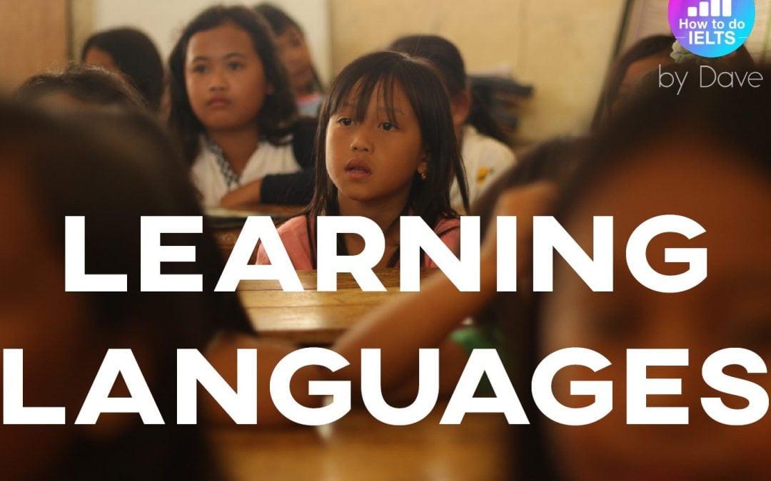 IELTS Essay: Learning Languages