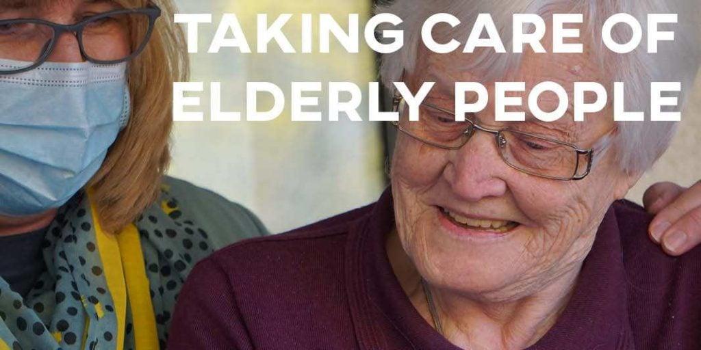 IELTS Essay: Taking Care of Elderly People