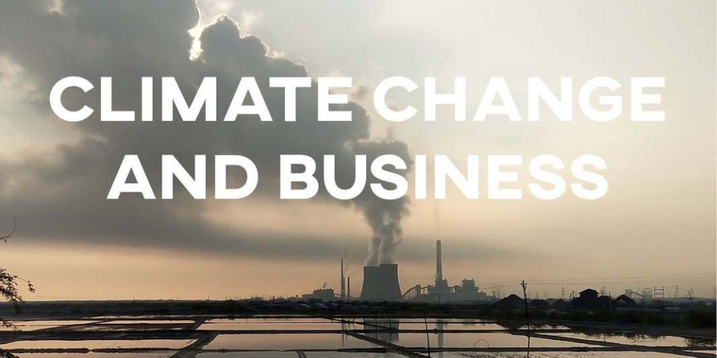 IELTS Essay: Climate Change and Business