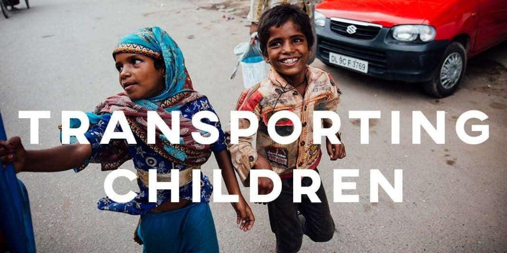 IELTS Essay: Transporting Children