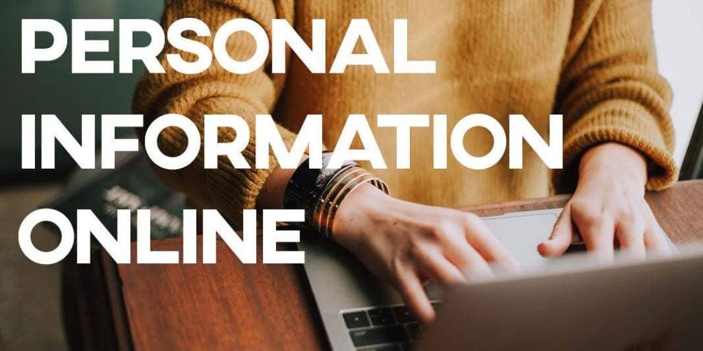 IELTS Essay: Private Information Online