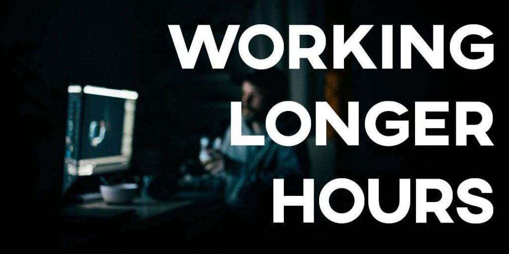 IELTS Essay: Working Longer Hours