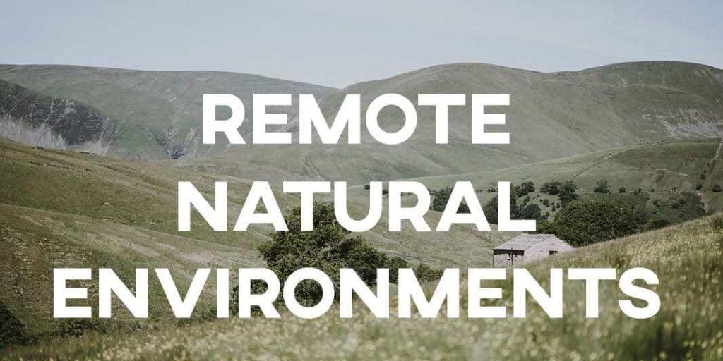 IELTS Essay: Remote Natural Environments