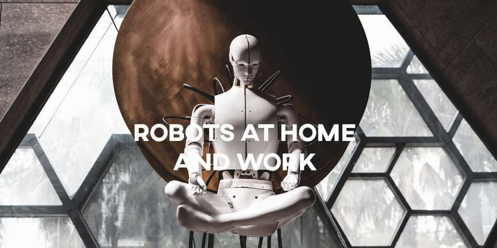 IELTS Essay: Robots Helping at Home and Work