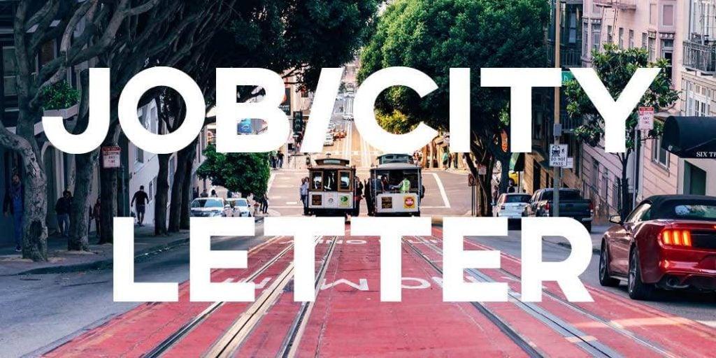 IELTS Task 1 General Training: New Job/City