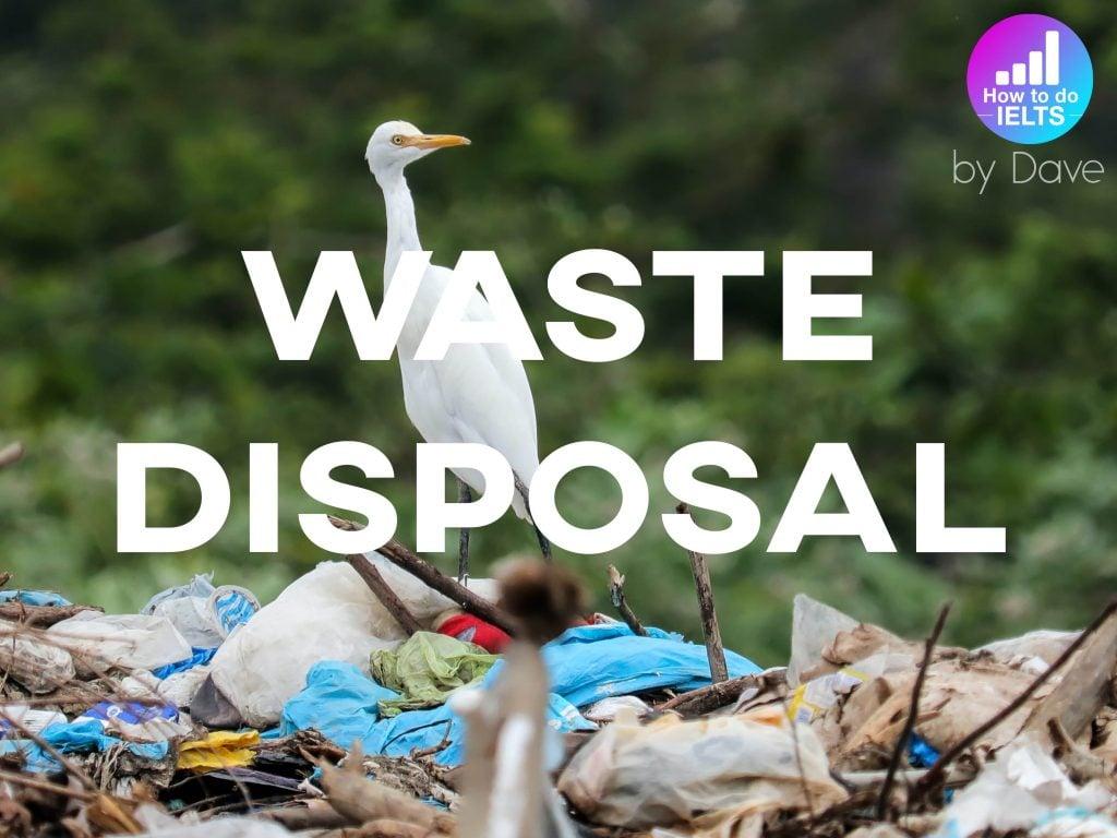 IELTS Essay: Waste Disposal