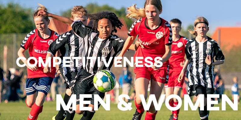 IELTS Essay: Competitiveness for Men & Women